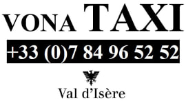 Logo Taxi Val Isere